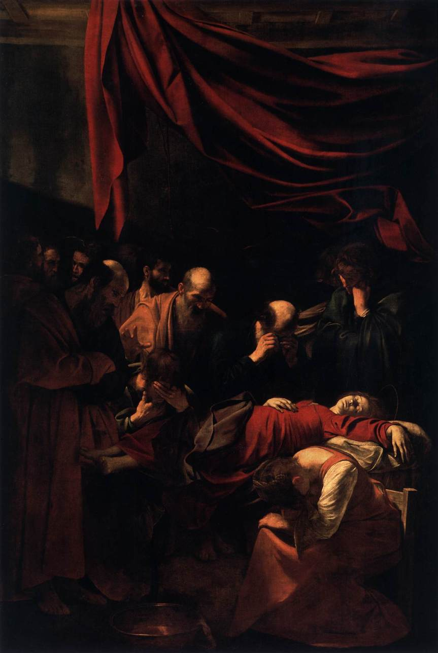 2 Caravaggio Death of the Virgin 1604to06