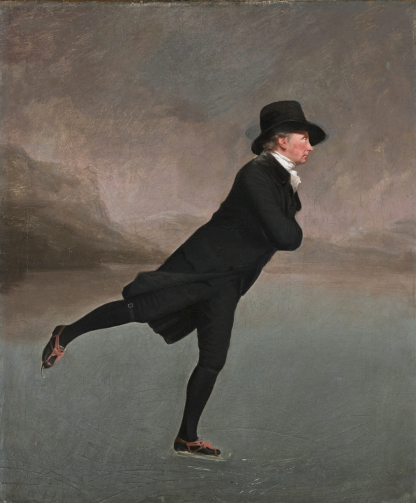 The skating Minister, by Henry Raeburn