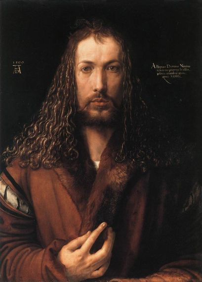 Durer Self Portrait at 28 1500
