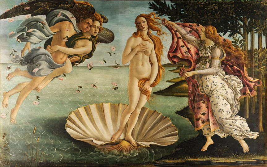 Botticelli The Birth of Venus 1486